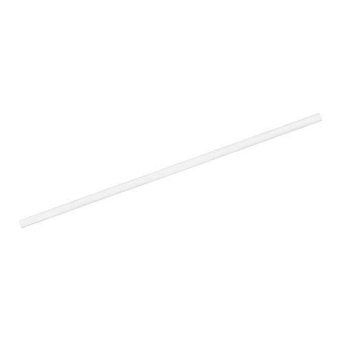 BIOZOYG Papier Trinkhalme 20 cm Strohhalm 5 mm Ø I Trinkhalm biologisch abbaubar I weiße Strohhalme einzeln verpackt I Party Trinkhalme für Cocktails I Papierstrohhalme vertikal gerollt 250 Stück