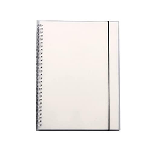 WPBOY Diario del Estudiante Cuaderno Creativo Cuaderno De Oficina Escolar Portátil Multifuncional Simple(80 Hojas/160 Páginas) (Color : Blank Inside Page, tamaño : A6)