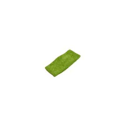 ノーブランド品 ヘアバンド タオル地 グリーン 緑 スポーツ 洗顔に GR