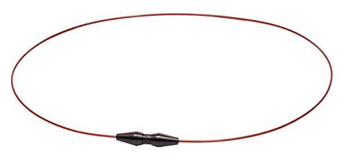 ファイテン(phiten) ネックレス RAKUWAネック ワイヤー EXTREME レッド/ブラック 40cm