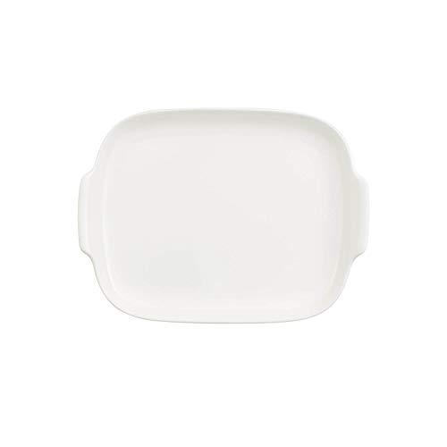 Villeroy & Boch Royal Beurrier sans cloche, Porcelaine Premium Bone, Blanc