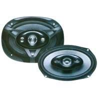 Life Paire de haut-parleurs 6 x 9 4 ohm 160 W 4 voies elliptiques avec grille (165 x 120 x 90)