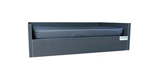 Cama Pet para Cachorro - Linea Cinza P - 53cm X 38cm X 15cm