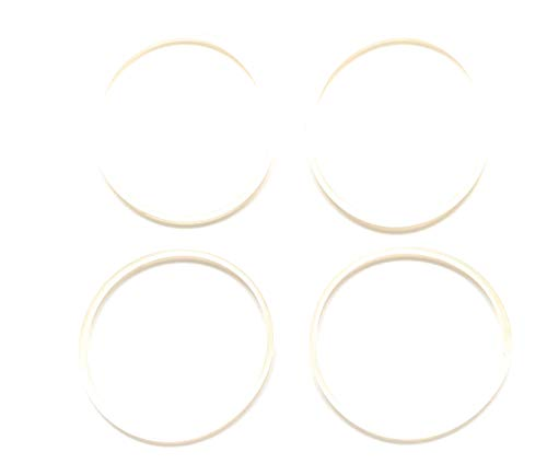 Fab International Replacement Gasket Compatible with Faberware Single Serve 4 Pack White 3' Diameter approximately (After market Part)
