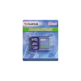 Fujifilm 128 MB CompactFlash Card 9 128MB storage capacity Fully compatible with and interchangeable in all CompactFlash digital cameras Non-volatile, no-moving-parts solid-state technology maximizes battery power; data is not lost when power is terminated