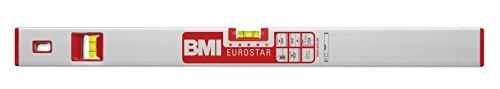 BMI 690040E Wasserwaage Eurostar, Länge 40 cm, eloxiert