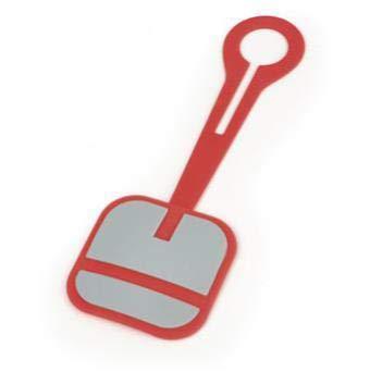 GABOL Tarjetero Logo Silicona, Unisex Adulto, Rojo, Única