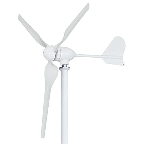 DAXINYANG Generatore di Turbine eoliche a 3 Pale 500-600 W, per Nautica, Camper, casa, generatore di Mulino a Vento Completo per Sistema Eolico Solare Ibrido,500W