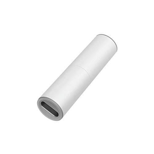 Aiseo Aspirador de Coche Recargable de 120 W/12 V con Potente SuccióN, Limpieza de 360 Grados/Purificado por Filtro Hepa/Reutilizable/Ligero/HúMedo y Seco