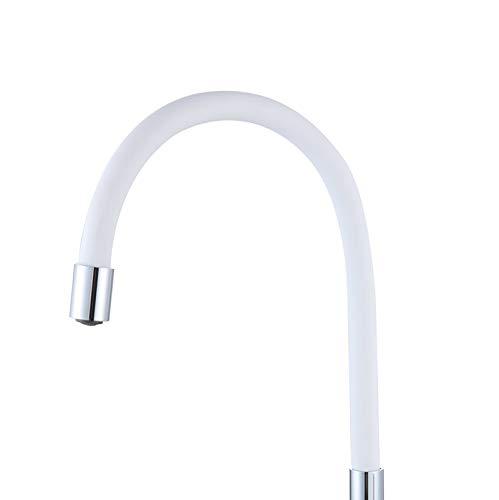 ATCO® Flexibler HU-Auslauf S-Auslauf Standventil Wasserhahn Waschtisch Spültisch Armatur Wandarmatur Schwenkauslauf Küchenarmatur 3/4