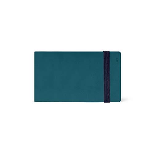 Legami Kalender mit Wochenansicht, 13 Monate, 2021, klein, Petrol Blue