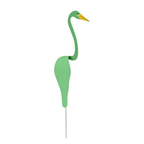 Swirl Bird Ornament, Swirl Bird-a Whimsical and Dynamic Bird, Flamingo Wind Chimes Garden Statues, Outdoor Decor Lawn Ornaments Patio Yard Decor