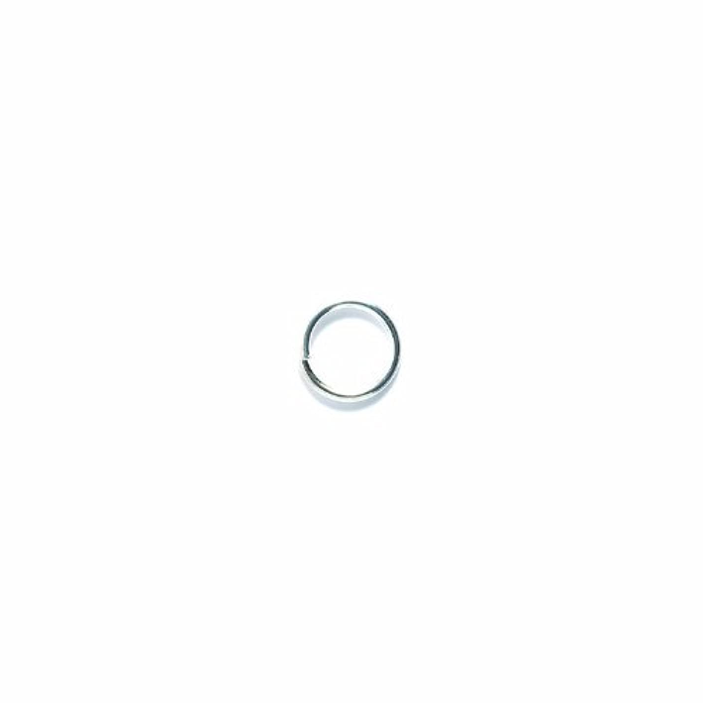 Shipwreck Beads Metal Jump Ring, 10 mm, 16-Gauge, Metallic, Silver, 50 gm Pack