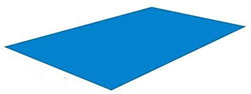 CaCaCook Pool Ground Cloth - Pool Bodenplane, Poolunterlage, rechteckig Frame Pool WasserdichtBodenfolie Unterlagen Bodenschutzplane Unterlegplane Bodenplane 338 * 239cm