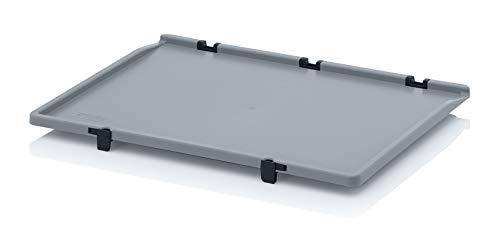 Scharnierdeckel für Auer Eurobehälter 60x40 * Klappdeckel Deckel für Eurobox 60 x 40