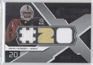 Darren McFadden #21/25 (Football Card) 2008 SPx - Rookie Winning Materials - Dual Jersey Player Jersey Numbers 25 #RM-DM