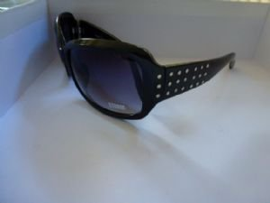 Storm Black Sunglasses with Stud Pattern Side