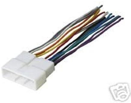 amazon com: stereo wire harness for a honda civic 96 97 98 1996 1997 1998  car radio wiring installation: automotive