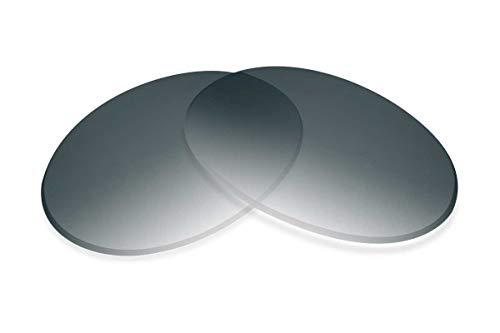 SFX Lentes de repuesto compatibles con Moscot Nebb 51 mm de ancho, Negro (Ultimate Black Gradient Hardcoat Pair - Sfxultra (Polarizado)), Talla única