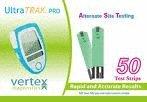 Ultra Trak Pro Blood Glucose Test Strips Mail Order Box of 50 - Vertex