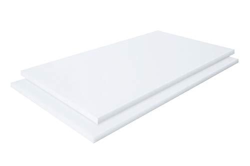 Acrylglas-platte, Plexiglas Zuschnitte   Platte   VIELE VERSCHIEDENE FORMATE UND STÄRKEN   2-10mm   TRANSPARENT u. OPAL, Messe- & Ladenbau   TOP QUALITÄT (2 Stück DIN A4 (29,7x21), 5mm OPAL UV-Schutz)