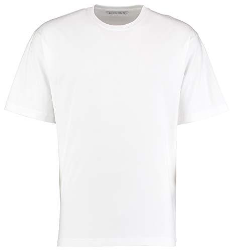 KUSTOM KIT - T-Shirt - - Manches Courtes Homme - Blanc - Blanc - X-Large
