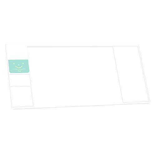 Befitery Schreibtischunterlage Multifunktions Schreibtisch Matte Pad Tischmatte kreativ Computer Laptop Mausunterlage Schreibunterlage (Weiß)