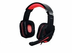 Tracer Gaming Headset TRACER Battle Heroes Xplosive Red