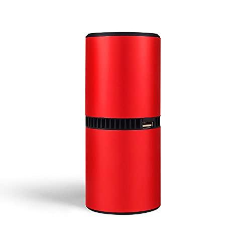 Purificatore d'aria portatile ionizzatore mobile per auto o casa, generatore di ioni negativi per la purificazione 'aria