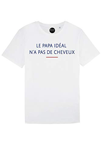 Le Papa Idal n'a Pas De Cheveux - T-Shirt Homme - Tendance -...
