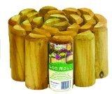3 X Lawn Edging - Log Roll 1.8m x 15cm