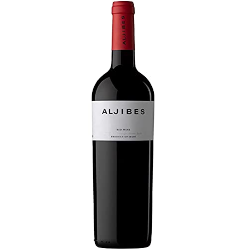 BODEGA LOS ALJIBES Aljibes 2016 Tinto, Vino Tinto Crianza Merlot-Cabernet Sauvignon-Cabernet Franc, Vino de la Tierra de Castilla, 1 botella de 750ml