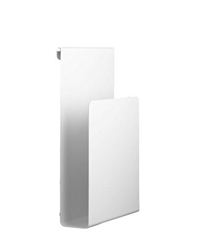 String System Magazinhalter, weiß lackiert BxHxT 17x27x5cm