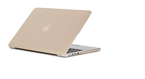 Moshi iGlaze Cáscara Protectora Rígida para MacBook Pro 13' Retina - Oro Satinado