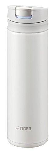 Tiger Stainless Mini Bottle 0.3L White Tiger Sahara Mug Bottle (MUJURYOKU) MMX-A030-WW