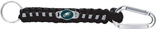 NFL Philadelphia Eagles Paracord Survival Carabiner Keychain