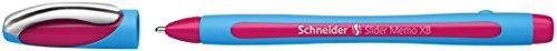 Schneider Slider Memo XB Pink Ink Pen