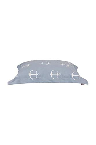 Trixie 38088 Kissen Anker, 70 × 55 cm, hellblau/grau