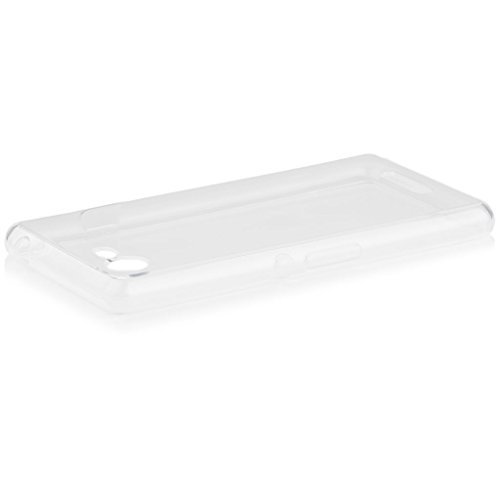 Sony Xperia E3 | iCues transparente TPU Claro | Transparente lámina protectora caso de la piel Claro Claro gel de silicona transparente de protección [protector de pantalla, incluyendo] Cubierta Cubierta Funda Carcasa Bolsa Cover Case