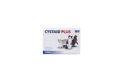 VetPlus Cystaid Plus - Complemento Dietético para Gatos con Cistitis Idiopática, 240 Capsulas