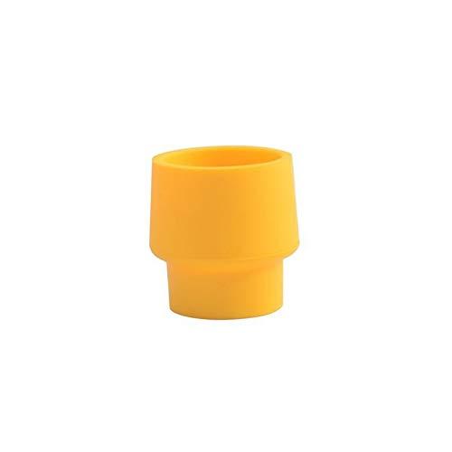 Yanshan Silica Botella de Vino Tapa de Sellado 3pcs Tapones de Corcho Vino Especias Tapas (Size : Yellow)