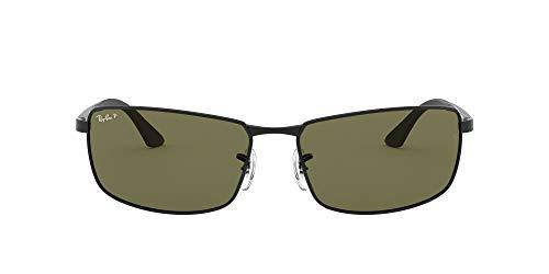 Ray-Ban - MOD. RB 3498 61 002/9A, Occhiali da sole da uomo polarizzata, Verde, Taglia unica
