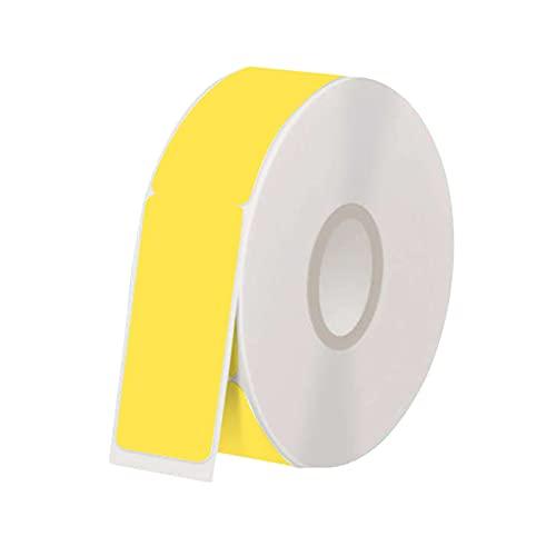 Bisofice Etiquetas para cables impermeables Etiquetas autoadhesivas de 4.3x0.5 pulgadas Soporte de impresión térmica para etiquetas de precio Suministros de oficina Tiendas de ropa Cables para cables