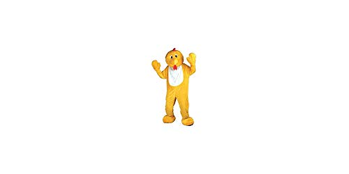 Yellow Chicken Mascot