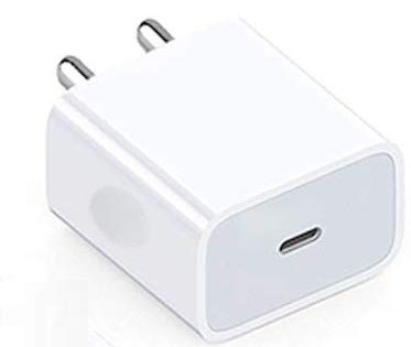 MYVN 18W Fast Charging Adapter Compatible for iPhone 12/12 Mini/12 Pro Max,11 Pro,11 Pro Max,iPad and iOS Devices