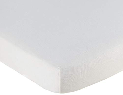 Briljant Baby - hydrofiele hoeslaken voor een wieg of kinderwagen - 40 x 80 cm, wit - hoogwaardige kwaliteit