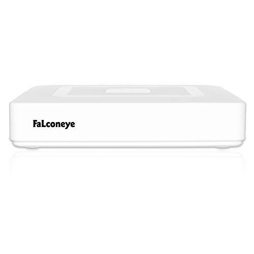 Faconeye 8CH 1080N de Vigilancia Grabador de Video Digital CCTV DVR NVR para AHD/TVI/CVI/Analog/IP Seguridad Cámara (Soporta Onvif P2P HDMI,Detección de Movimiento,Alarma Email,Sin Disco Duro)