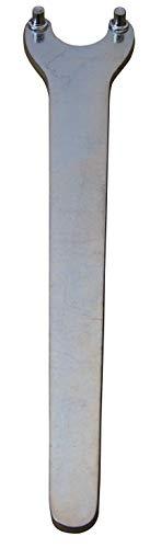 kwb Aggresso-Flex Zweiloch-Schlüssel DIN 3116 z. Spannen und Lösen von Spann-Muttern v. Winkel-Schleifern, Made in Germany