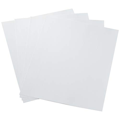 Amazon Basics White CD Labels for Laser Printers, 40 Disc Labels and 80 Spine Labels