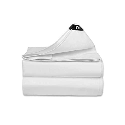 QBV Mehrzweck-Plane wasserdicht verdickt, regendichtes Tuch Outdoor-Überdachung, Camping - zu jeder Jahreszeit erhältlich (Farbe : White, Größe : 2 x1.5m(6.56 x4.92 ft))